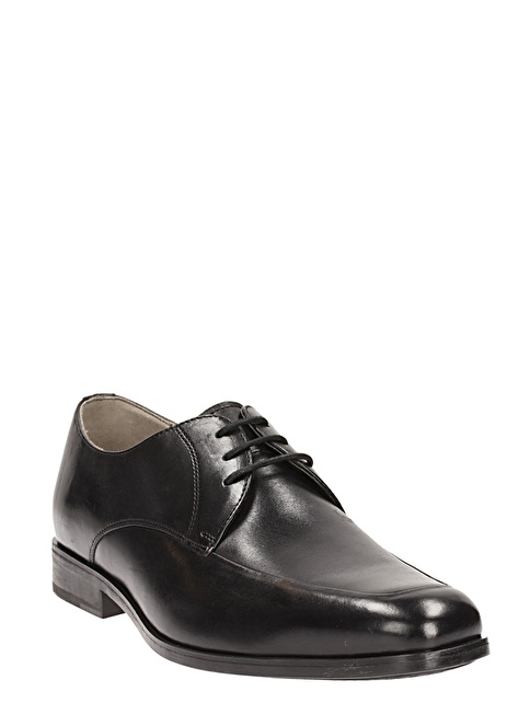 Clarks %100 Deri Bağcıklı Klasik Ayakkabı Siyah
